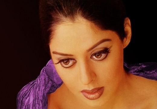 Indian actress Nagma