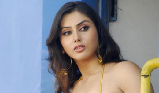 Indian actress Namitha