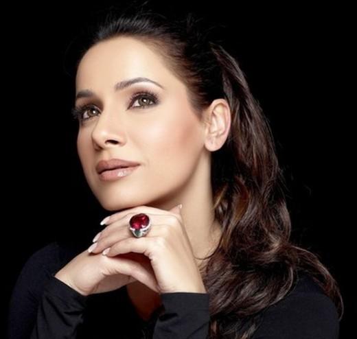 Former Indian actress and jewelery designer Neelam Kothari