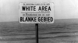 Some international laws are said to be jus cogens - unavoidable. South Africa clashed with this concept when it resisted the international norm of non-discrimination based on race.