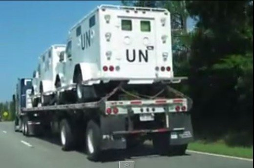 Is there a reason these trucks have been seen all over America? What does Snopes have to say about them?