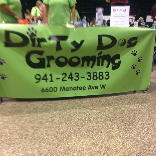 Full service grooming in Bradenton for all sizes and breeds.  6600 Manatee Ave W