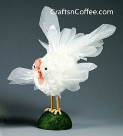 31 Unique Chicken Crafts