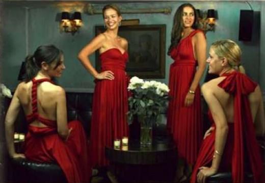 Wedding Trends: Mix and Match Bridesmaids | NewYorkDress.com