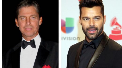 Ricci Martin and Ricky Martin