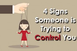 Receiving advice: When someone is trying to control you