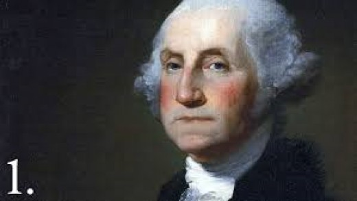 Rebel leader George Washington (American Revolution: (1776-1783)