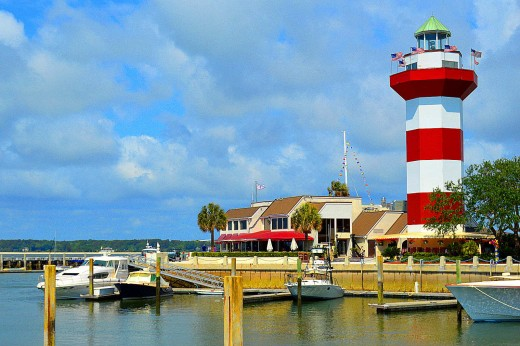 Harbour Town is one of the best attractions on Hilton Head island. © Scott Bateman