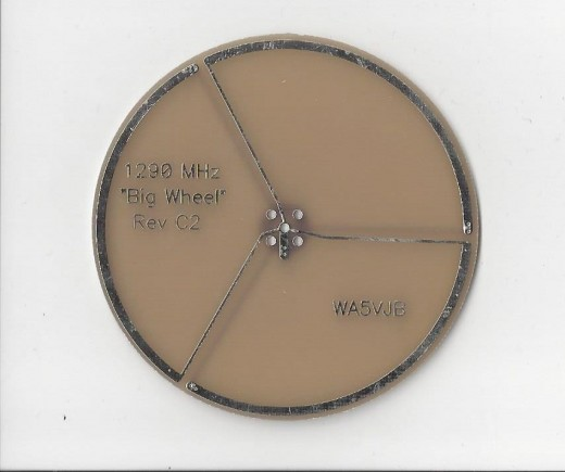 1290 MHz wheel antenna by Kent Electronics