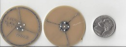 2.4 GHz wheel antenna by Kent Electronics used in drones and ISM applications.