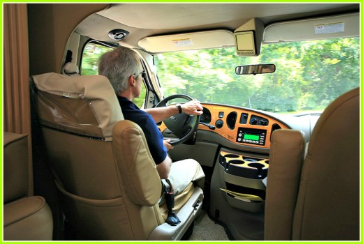 Make sure you match your abilities to the type of RV you plan to drive.
