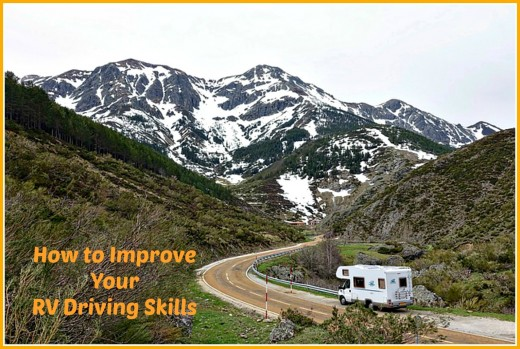 Driving an RV is different from driving a car.  Make sure your skills are up to date before leaving on your next RV vacation.