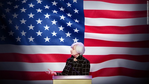 Feast your eyes on the most powerful person in the United States, Fed chairperson Janet Yellen.
