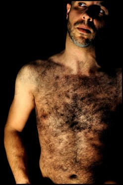Just because a guy has a lot of hair on his chest, he should not feel an irresistible urge to go without his shirt on a beach or in his front yard just so girls can swoon over him