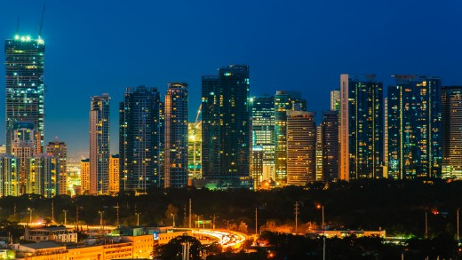 Manila City Lights