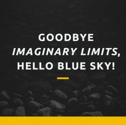 Goodbye Imaginary Limits, Hello Blue Sky
