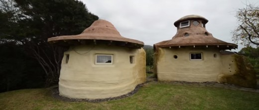 completely sustainable and beautifull! A man built these two with very little tools and by himself
