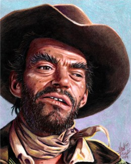 The late Jack Elam