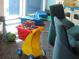Toys in Children's Activity Room