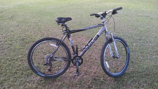 My Trek Rock Mountain BIke