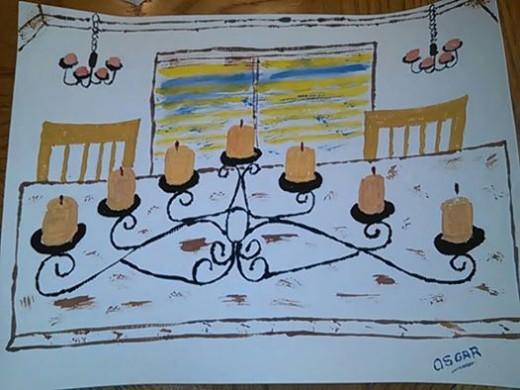 Seven Tier Candlestick