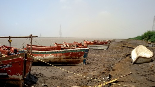 Boats at Bharbhut