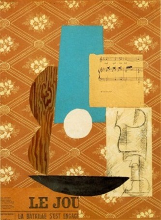 Guitar 1914 collage