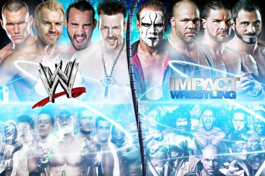 WWE's Roster VS Impact Wrestling's Roster before 2017
