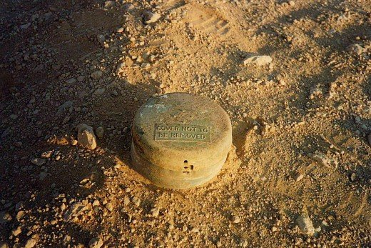 WW2 British mines today in Egypt