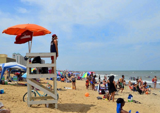Virginia Beach is one of the most popular beach destinations on the East Coast. Credit: Copyright Scott Bateman
