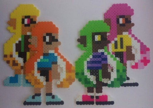 She even can design your very own inkling from Splatoon!