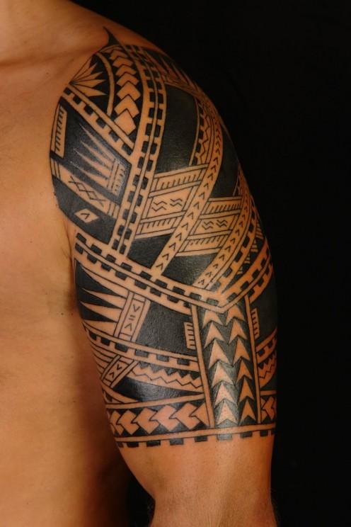 Tribal tattoo (Hawaiian)