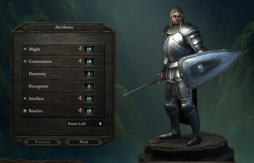 pillars of eternity paladin build