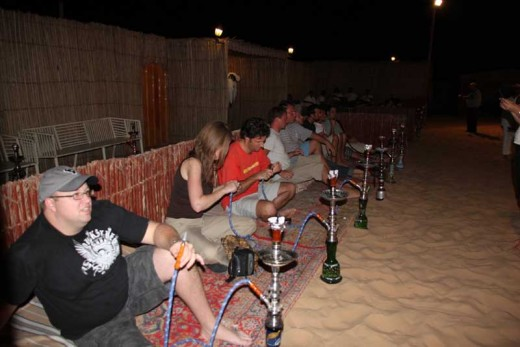 Sheesha at Desert Safari Abu Dhabi