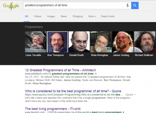 Greatest programmers of all time.