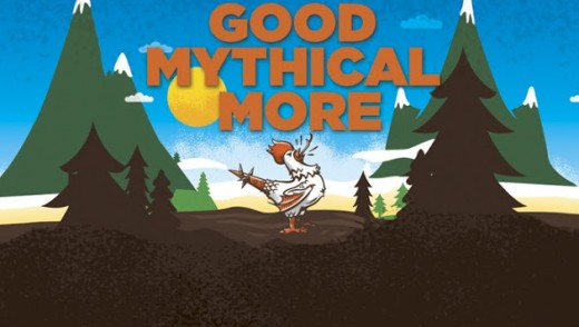 But that's not all! Each mythical morning there's a Good Mythical More... that is, if you can handle more of these cantankerous folk.