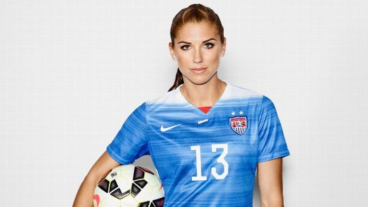 American soccer player Alex Morgan