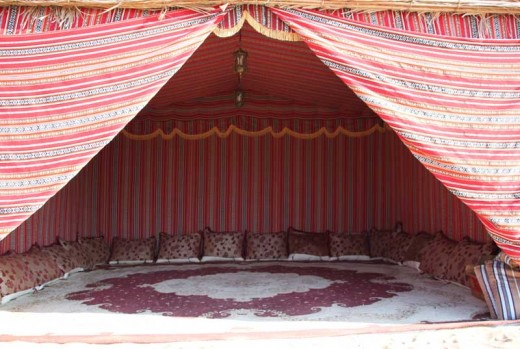 Camping at Desert Safari