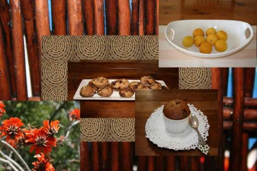 Wonderful rich oranges and brown colour scheme