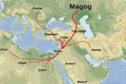 The Middle East area 2500 years ago