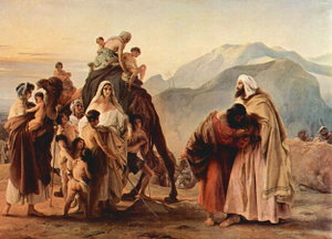 Esau Embraces Jacob