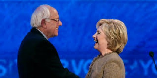 Clinton and Sanders . Unity in Diversity