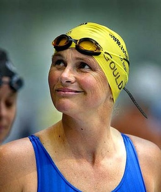 Former Australian swimmer, Shane Gould, who won three gold medals in the 1972 Olympics, was at that time considered one of the greatest swimmers of all time. She didn't sit back and watch things happen. She made them happen.