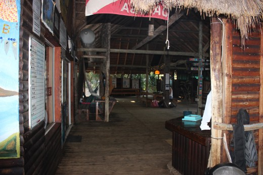 Dive Camp communal area