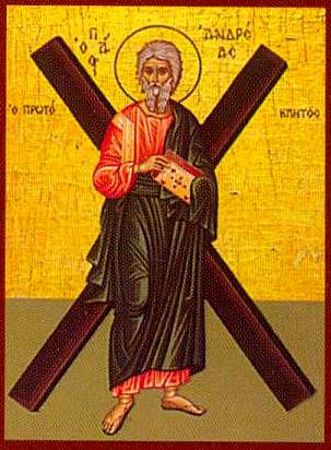An Orthodox 'Icon' of St Andrew