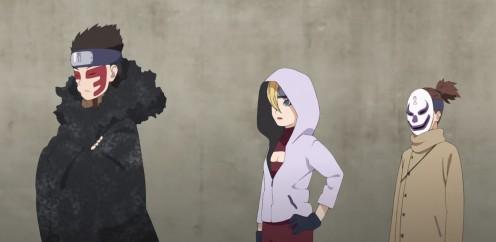 Team Shinki - Gaara's children.