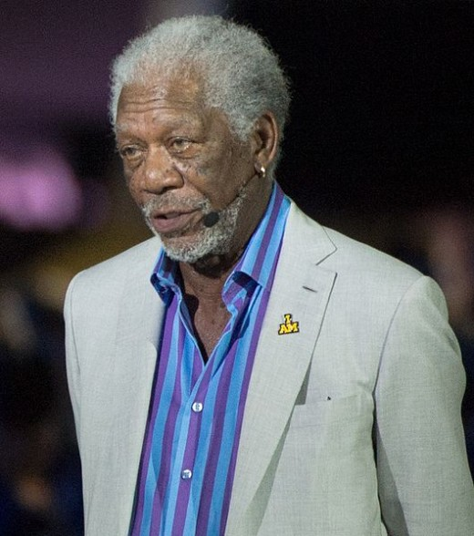 Morgan Freeman is a Male