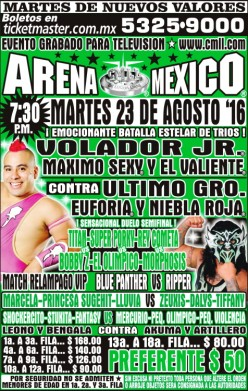 CMLL Tuesday Preview: Going Through the Motions