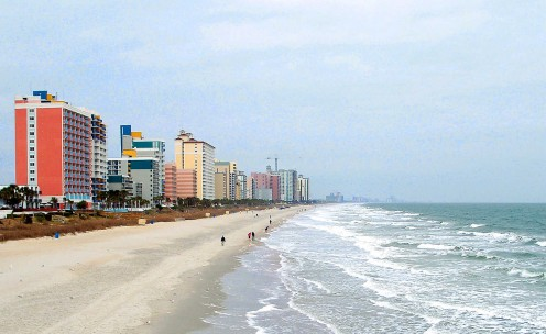 Myrtle Beach attracts 13 million people every year.