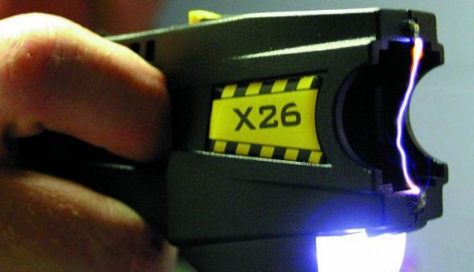 A top of the line taser